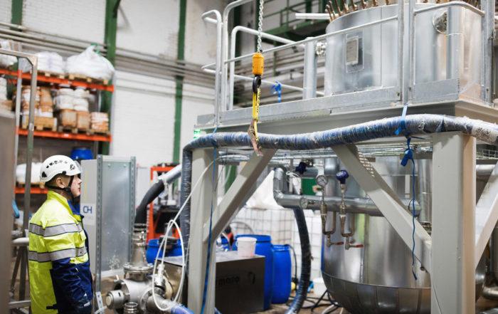 CH-Bioforce Pilot production line